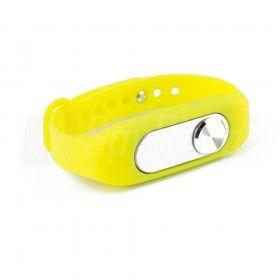 Wymienna opaska do dyktafonu MVR-200 - aż 5 kolorów, Kolor - Żółty