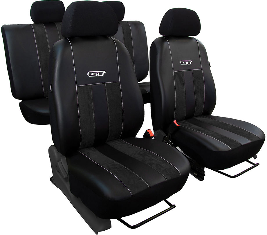 Pokrowce samochodowe do Ford Fusion van, GT, kolor czarny