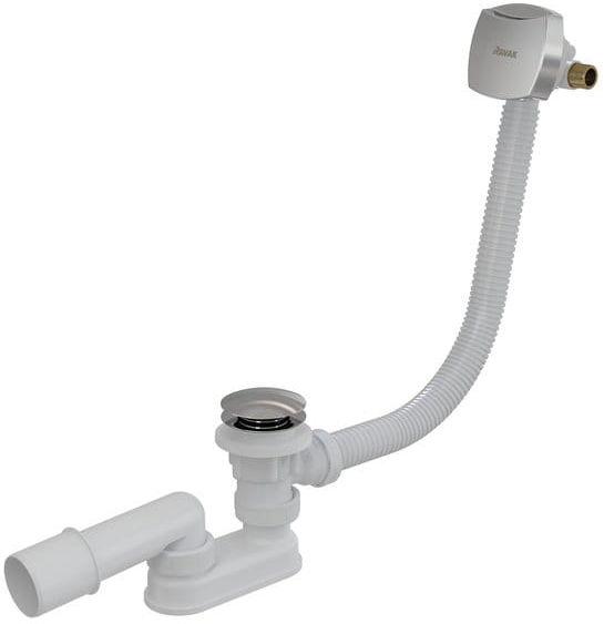 Ravak wannowy komplet odpływowy z napełnianiem przez przelew 800 II Click-Clack (klik-klak) Chrom X01505