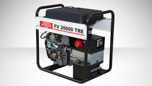 Fogo FV 20000 TRE Agregat prądotwórczy trójfazowy 400V/230V - AVR automatyczny regulator napięcia, powiększony zbiornik paliwa, elektryczny rozrusznik
