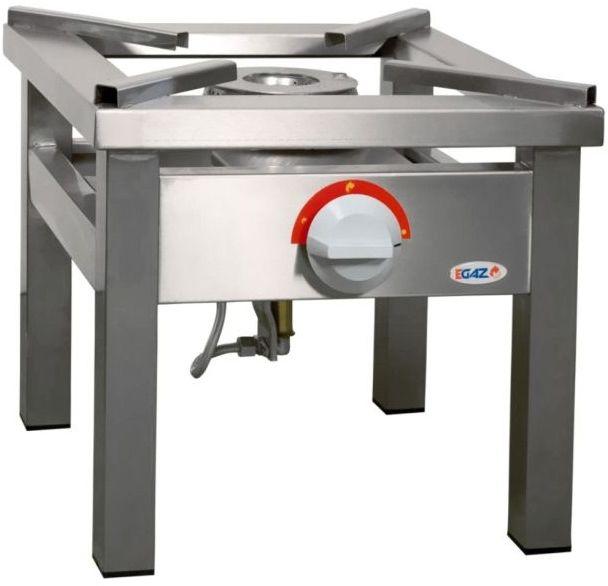 Taboret gastronomiczny gazowy 1-palnikowy EGAZ TGOM-107