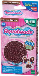 Aquabeads - Solidne koraliki - brązowe