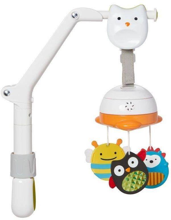 Mini karuzela podróżna Explore & More 303302-Skip Hop, zabawka dla niemowląt