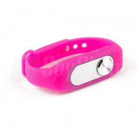 Wymienna opaska do dyktafonu MVR-200 - aż 5 kolorów, Kolor - Różowy