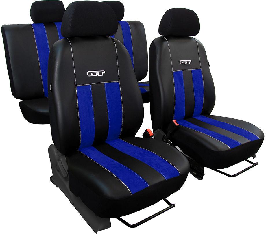 Pokrowce samochodowe do Ford Fusion van, GT, kolor niebieski