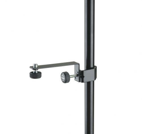 K&M 23800-300-55 uchwyt mikrofonowy do statywu mikrofonowego (czarny)
