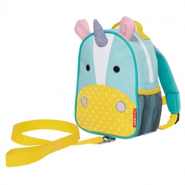 Skip hop - Plecak Baby zoo ze Smyczą Bezpieczeństwa - Jednorożec