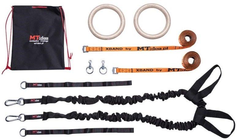 Kółka Gimnastyczne MTidea Big Pack + Ekspander ZT1