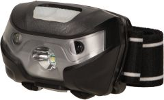 Latarka czołowa LED 3W, 120lm, 1200mAh Li-Po, ruchoma głowica