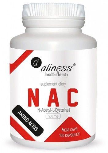 ALINESS NAC N-ACETYL L-CYSTEINA 500mg-100kaps VEGE