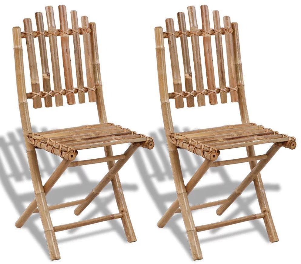 Składane krzesła tarasowe Javal - 2 szt.