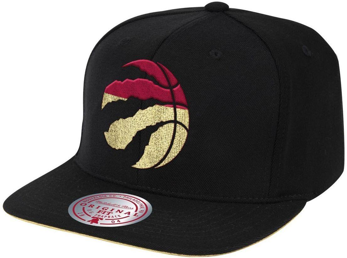Czapka z daszkiem bejsbolówka Mitchell & Ness NBA Toronto Raptors