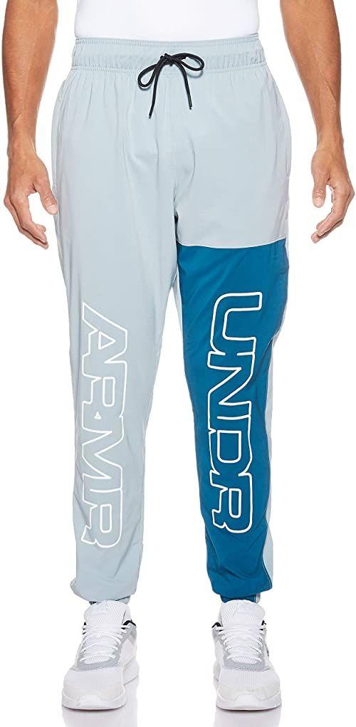 Under Armour Baseline Woven męskie spodnie do biegania, niebieskie, rozmiar XL