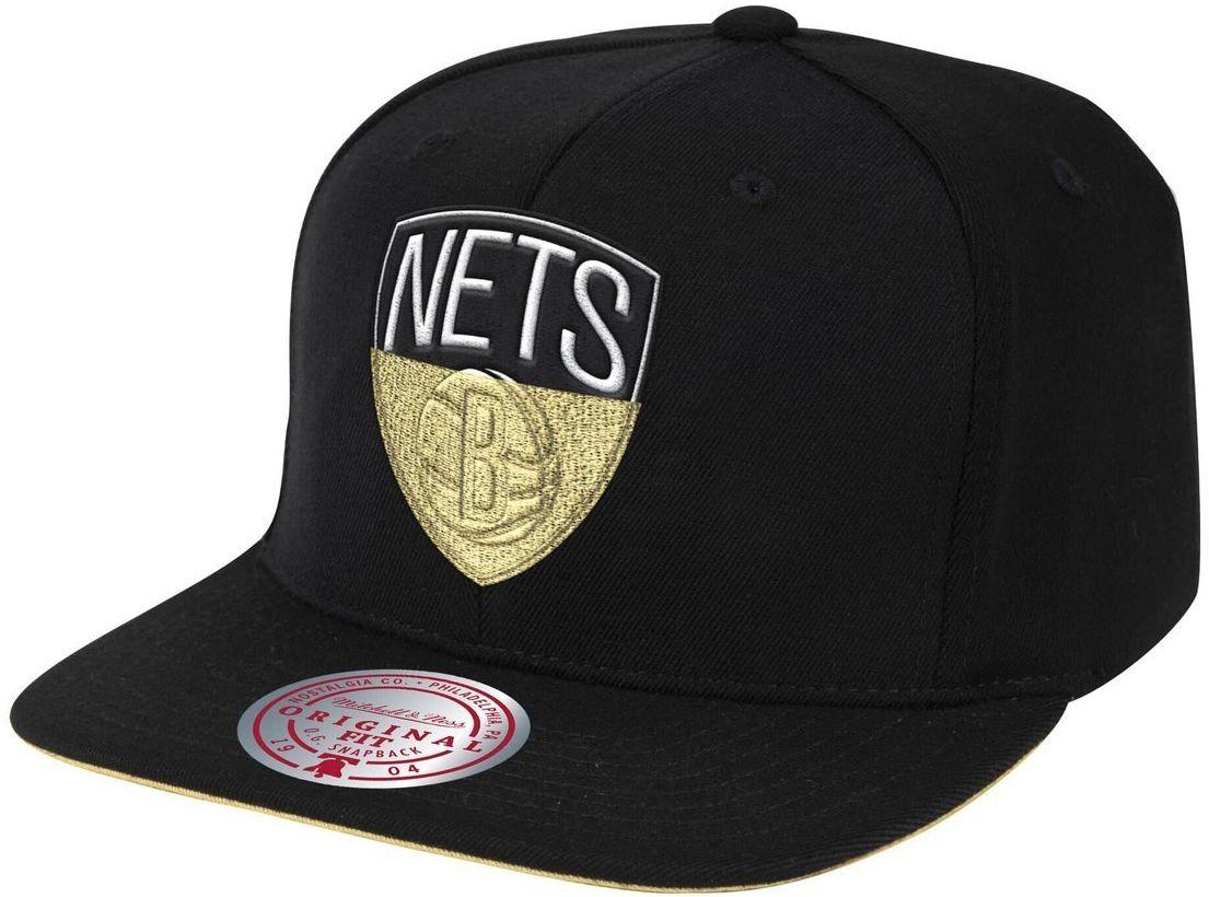 Czapka z daszkiem bejsbolówka Mitchell & Ness NBA Brooklyn Nets