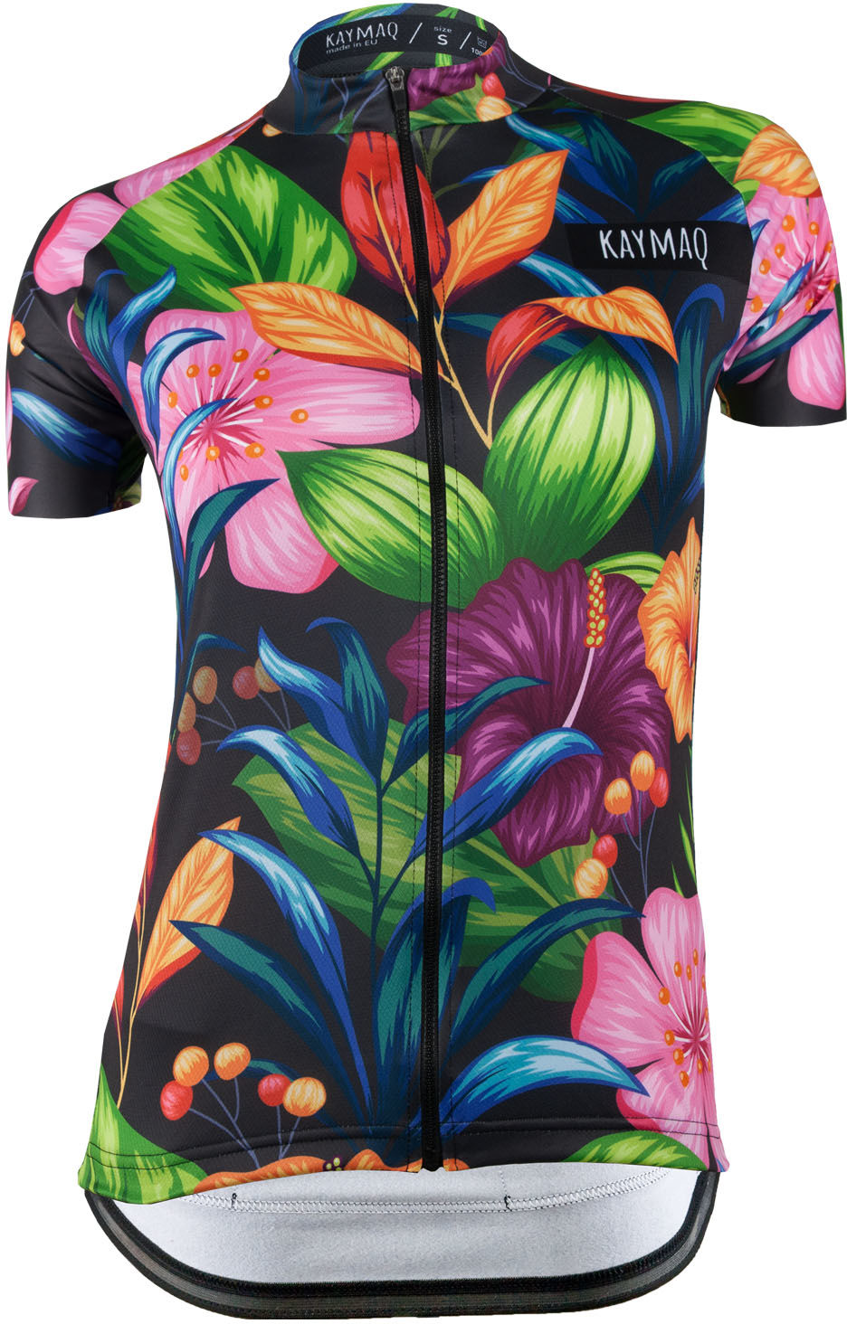 KAYMAQ DESIGN W14 damska koszulka rowerowa krótki rękaw Rozmiar: M,KYMQ-W14-KOSZ