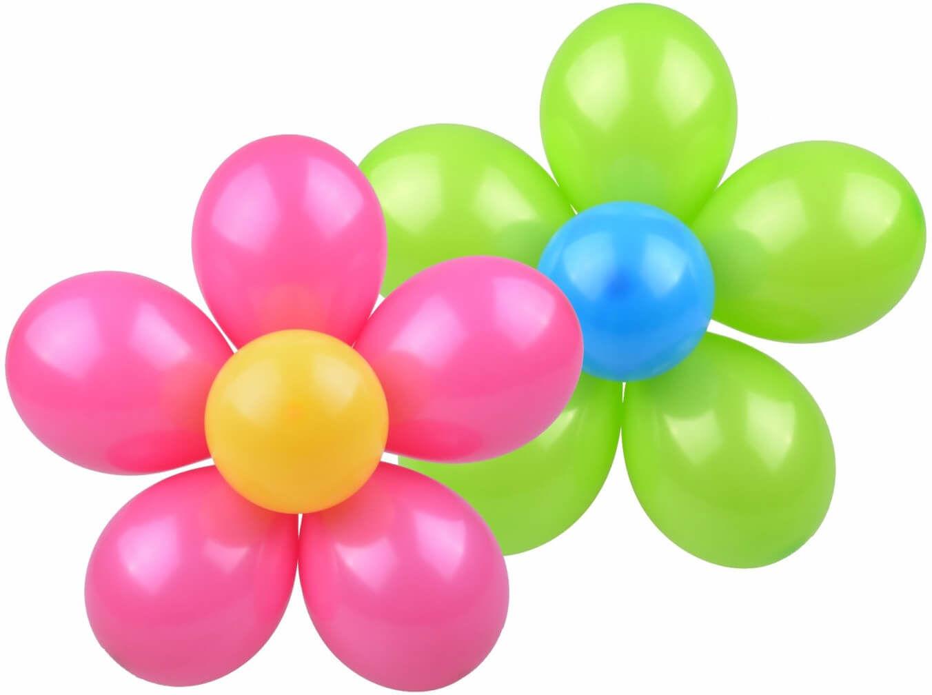 Zestaw balonów Kwiatek Zrób to sam - 2 komplety