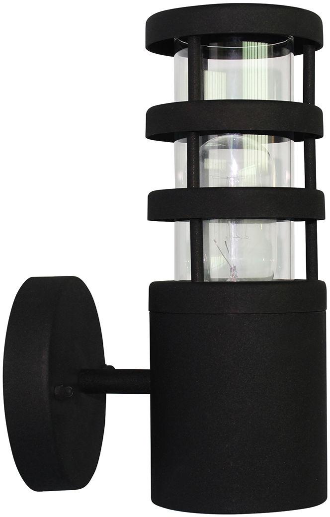 Kinkiet zewnętrzny Hornbaek W1 Elstead Lighting czarna oprawa w nowoczesnym stylu