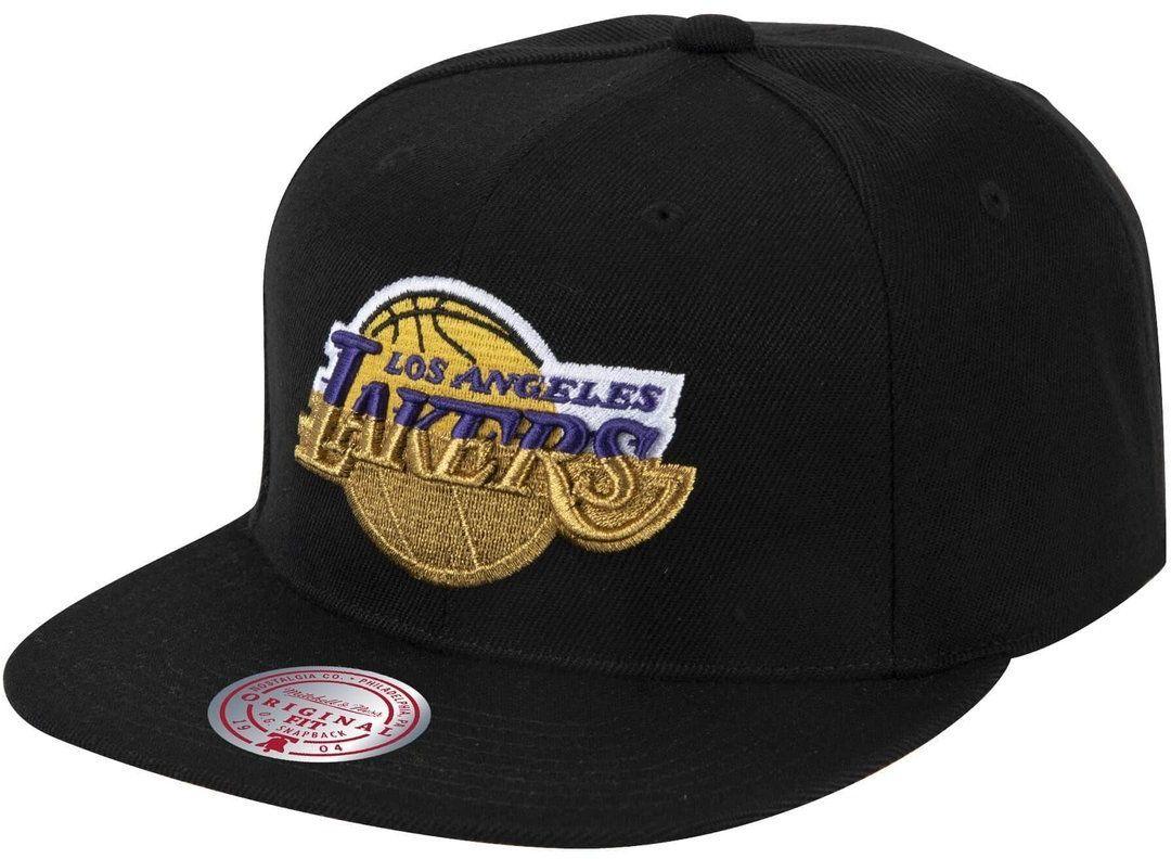 Czapka z daszkiem bejsbolówka Mitchell & Ness NBA Los Angeles Lakers