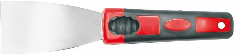Szpachelka nierdzewna 30mm, rękojeść odgięta Vorel 05921 - ZYSKAJ RABAT 30 ZŁ