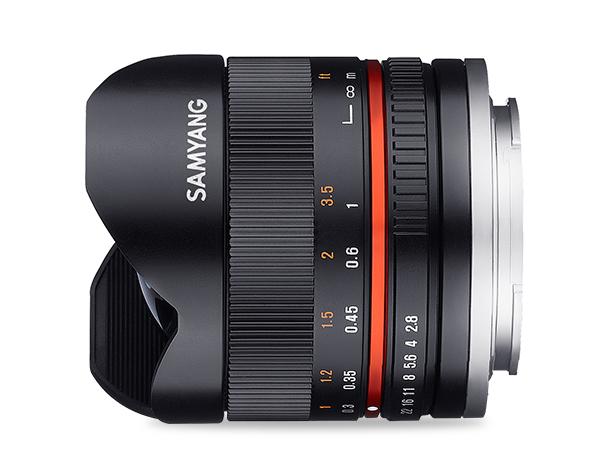 Samyang 8mm F2.8 UMC Fish-eye II - obiektyw do Sony E Samyang 8mm F2.8 UMC Fish-eye II