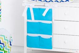 MAMO-TATO Przybornik BEST organizer na łóżeczko Niebieski
