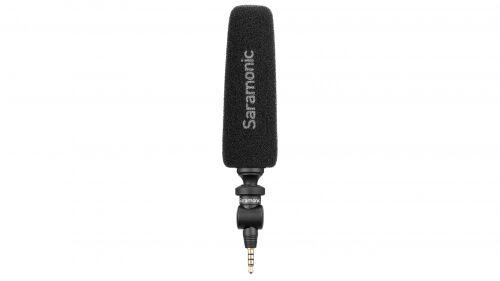 Mikrofon pojemnościowy Saramonic SmartMic5S ze złączem mini Jack TRRS