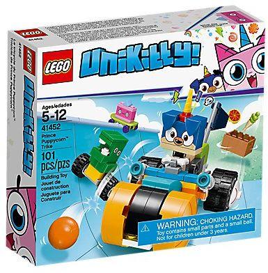 Klocki LEGO 41452 Unikitty Rowerek Księcia Piesia Rożka