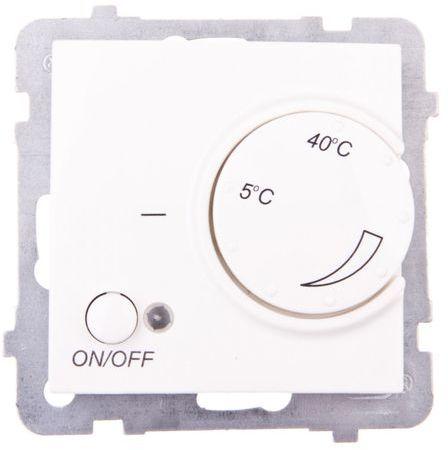AS Regulator temperatury /czujnik podłogowy/ ecru RTP-1G/m/27