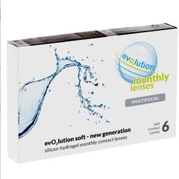 evO2lution monthly lenses multifocal 6 szt.