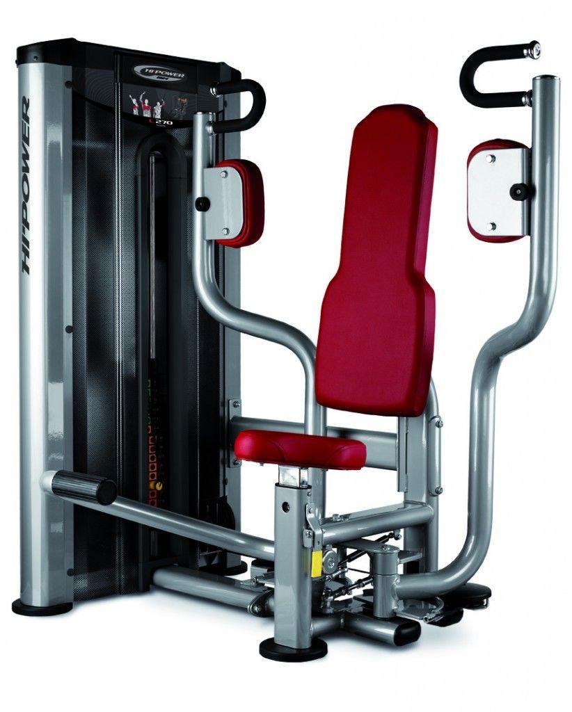 Maszyna do ćwiczeń mięśni klatki piersiowej Butterfly L270 BH Fitness