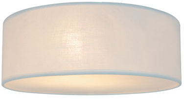 Plafon Clara CL12029-D40-WH Zuma Line minimalistyczna oprawa w kolorze białym