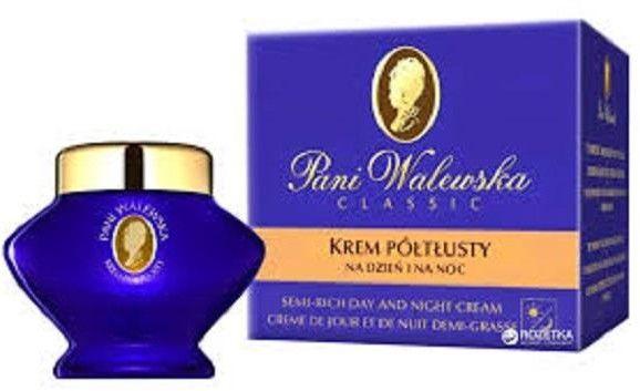 PANI WALEWSKA_Classic Semi-Rich Day And Night Cream krem półtłusty na dzień i na noc 50ml