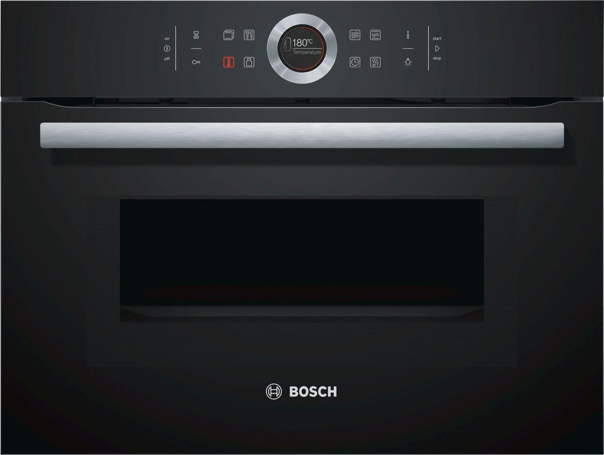 Piekarnik kompaktowy Bosch CMG633BB1, I tel. (22) 266 82 20 I Raty 0 % I kto pyta płaci mniej I Płatności online !