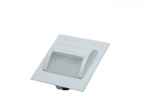 Oprawa schodowa LED 1,5W 230V biała zimna - obudowa biała