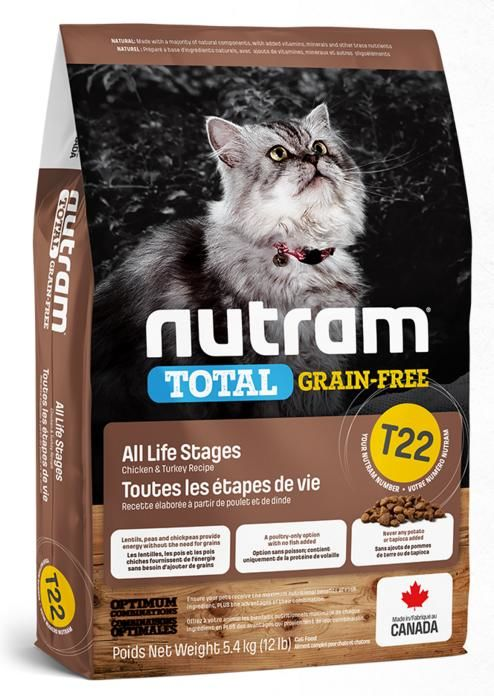 NUTRAM cat T22 - GF CHICKEN/turkey
