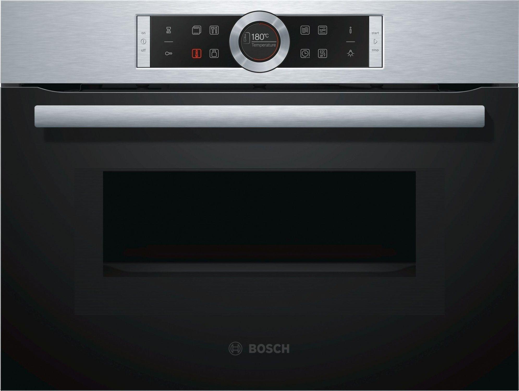 Piekarnik kompaktowy Bosch CMG633BS1, I tel. (22) 266 82 20 I Raty 0 % I kto pyta płaci mniej I Płatności online !