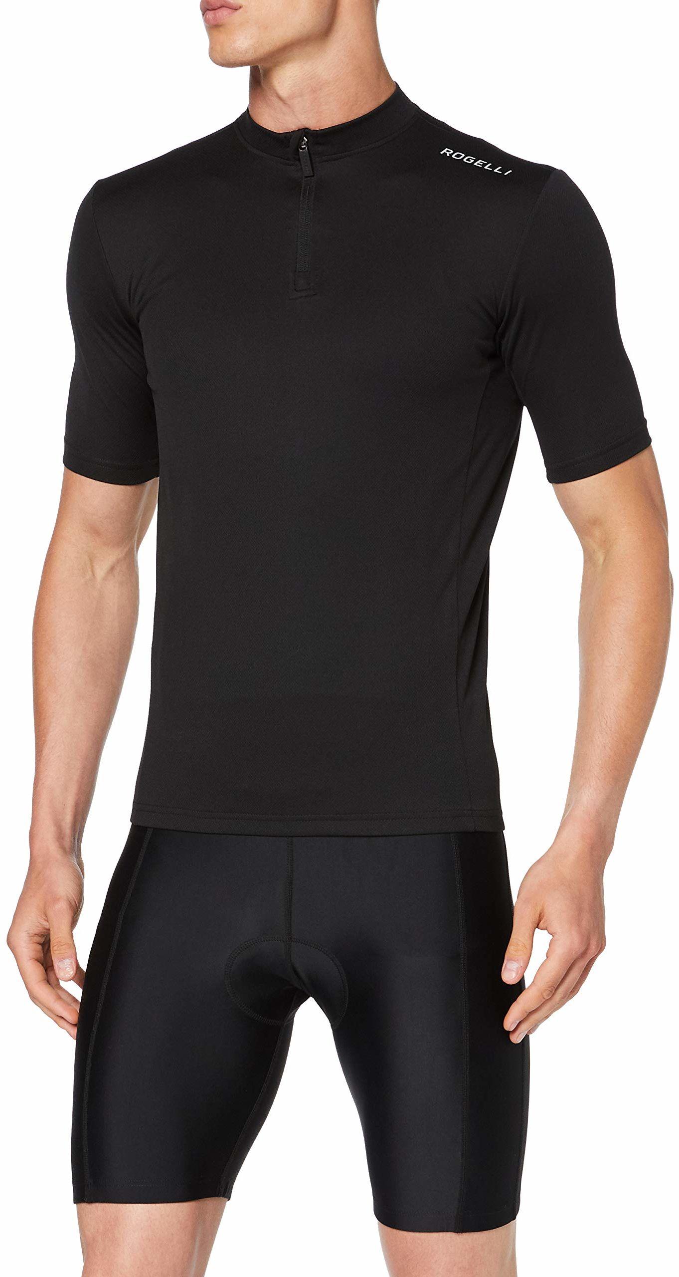 Rogelli Base Base męska koszulka rowerowa czarny L