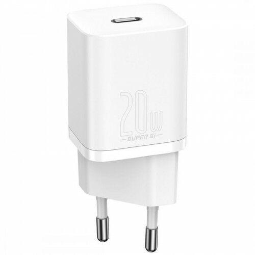 Ładowarka sieciowa Baseus Super Si USB-C 20W, biała