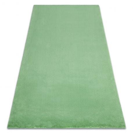Dywan BUNNY zielony IMITACJA FUTRA KRÓLIKA 60x100 cm