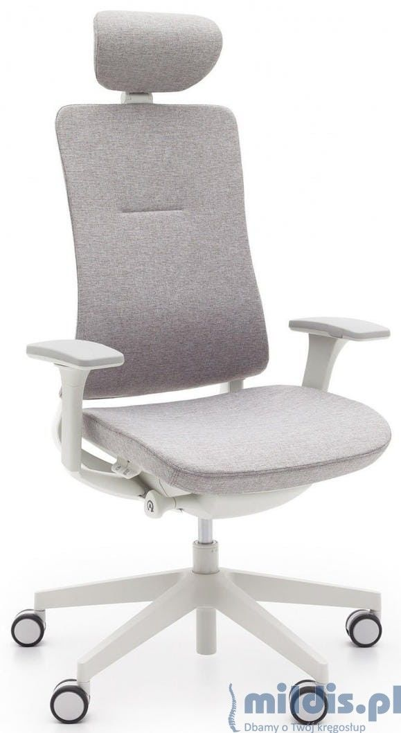 Fotel ergonomiczny Violle Pro - jasnoszary