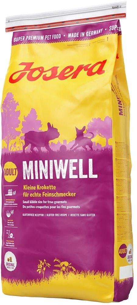 JOSERA Miniwell 15kg + niespodzianka dla psa GRATIS!