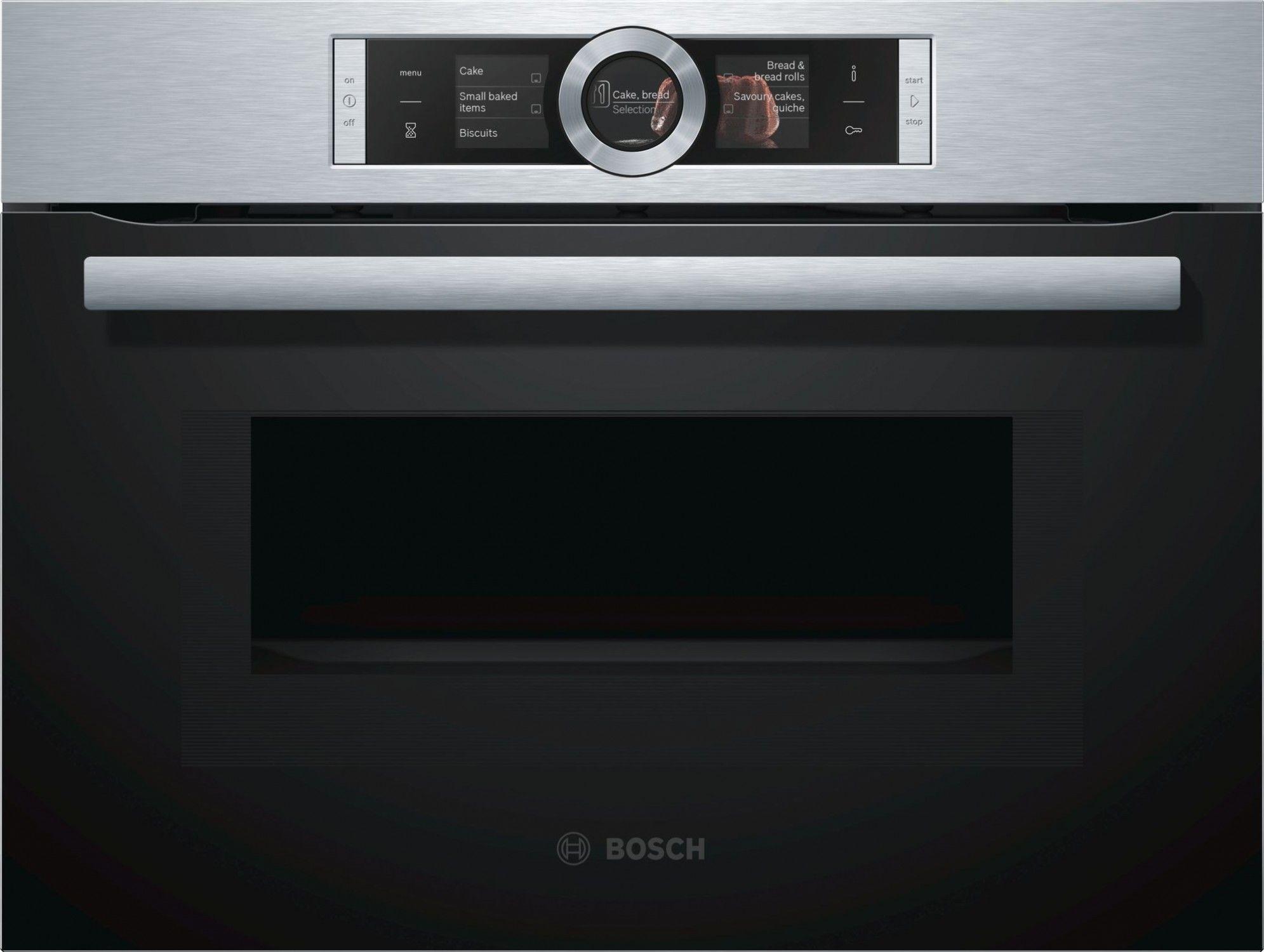 Piekarnik kompaktowy Bosch CMG636BS1, I tel. (22) 266 82 20 I Raty 0 % I kto pyta płaci mniej I Płatności online !