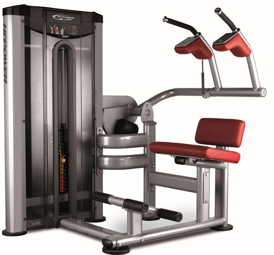 Maszyna do ćwiczeń mięśni brzucha Abdominal L310 BH Fitness