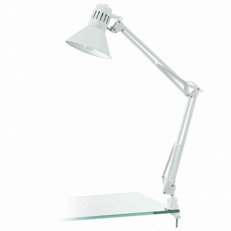 Lampa biurkowa z klipsem FIRMO 90872  Eglo  Skorzystaj z kuponu -10% -KOD: OKAZJA