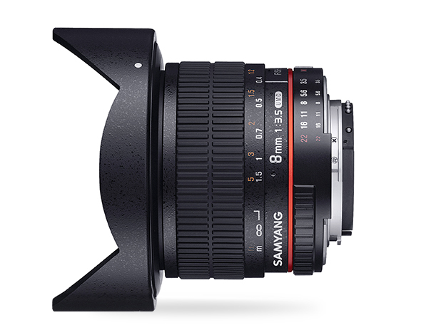 Samyang 8mm F3.5 UMC Fish-Eye CS II - obiektyw do Nikon Samyang 8mm F3.5 UMC Fish-Eye CS II
