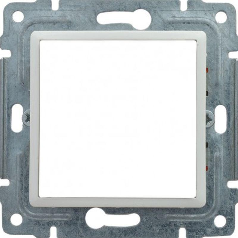 VENA Uchwyt montażowy 45x45 z redukcją ramki biały 510445