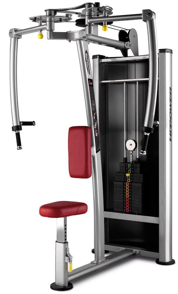 Maszyna do ćwiczeń mięśni klatki piersiowej Rear Deltoid L410 BH Fitness