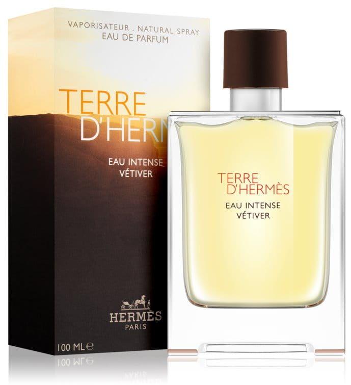 Hermes Terre d''Hermès Eau Intense Vetiver Woda 100 ml Perfumowana dla mężczyzn