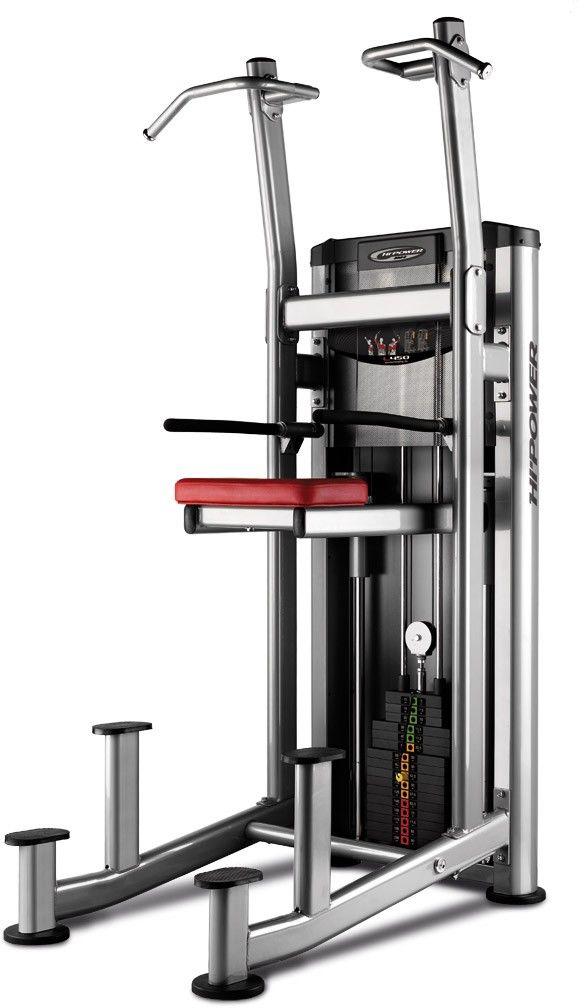 Maszyna do ćwiczeń górnych partii mieśniowych Assisted Kneeling Dip L450 BH Fitness