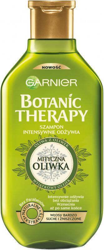 GARNIER - BOTANIC THERAPY - Intensywnie odżywiający szampon do włosów bardzo suchych i zniszczonych - Mityczna Oliwka - 400 ml